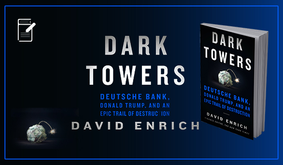 This is a first-rate read & hard hitting work of investigative journalism as it provides unprecedented insights of Deutsche Bank, Donald Trump's lender of choice. David Enrich, a former reporter with The Wall Street Journal and now the finance editor of The New York Times, has found, perhaps, the perfect vehicle for this murky, un-transparent moment.