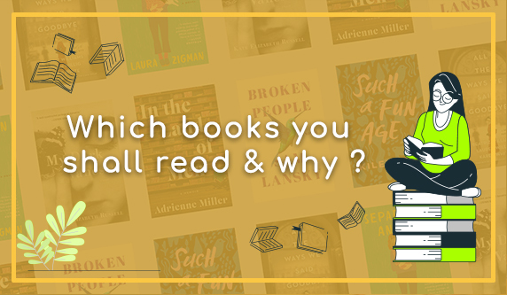 Know the difference of fiction & non-fiction genre. A guide to help which book you shall read and why?