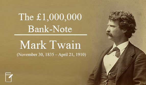 The £1000000 bank note